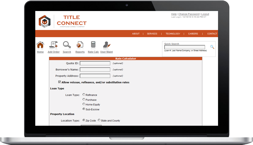 Title & Escrow Fee Calculator